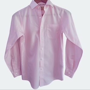 Class Club Gold Label Pink button down shirt 10/12